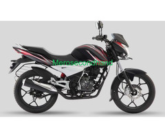 Bajaj discover 125 st black and red bike on sale at kathmandu