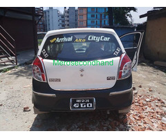 Used secondhand Alto taxi-car on sell at kathmandu