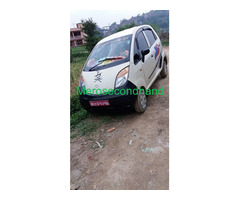 Used-secondhand tata nano car on sell at kathmandu nepal