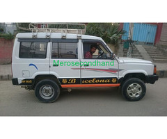Used-secondhand tata sumo pickup car on sale at Lalitpur nepal