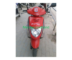 Secondhand used fresh dio scooter on sale at kathmandu nepal