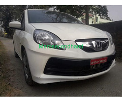 Secondhand used honda brio car on sale at lalitpur nepal