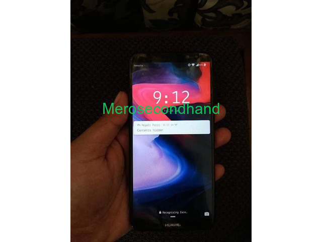 Used - secondhand huawei nova 2i mobile on sale at kathmandu - 1/4