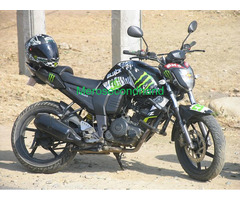 Used - secondhand FZ bike on sale at kathmandu nepal