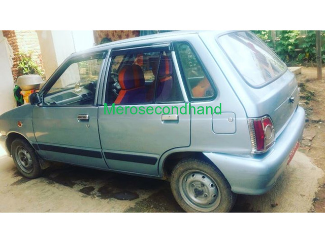 Used - secondhand maruti car on sale at kathmandu - 1/2