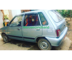 Used - secondhand maruti car on sale at kathmandu - Image 1/2
