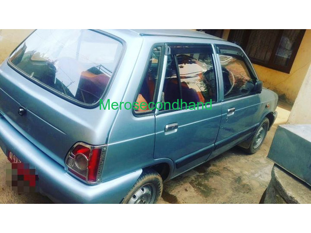 Used - secondhand maruti car on sale at kathmandu - 2/2