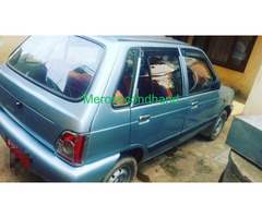 Used - secondhand maruti car on sale at kathmandu