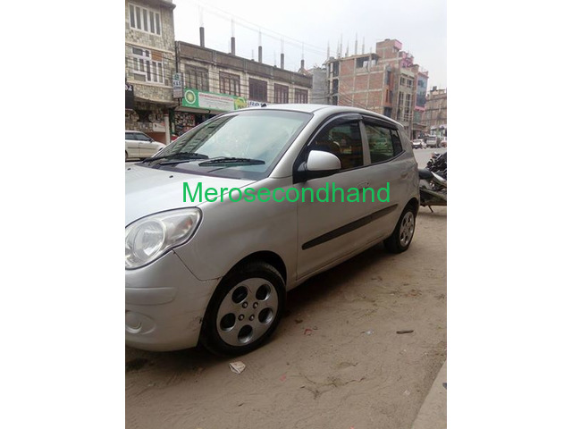 Secondhand - used kia santro car on sale at kathmandu - 5/5