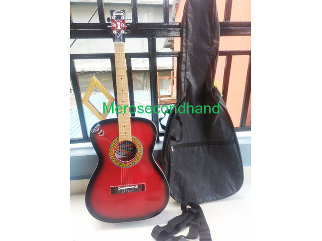 Acoustic Guitar for sale - 8 months old Givsun in Thamel, Kathamandu (Rs 2900) - 1/2