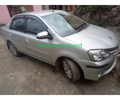 Full option secondhand toyota etios car on sale at kathmandu - Image 1/6