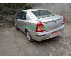 Full option secondhand toyota etios car on sale at kathmandu