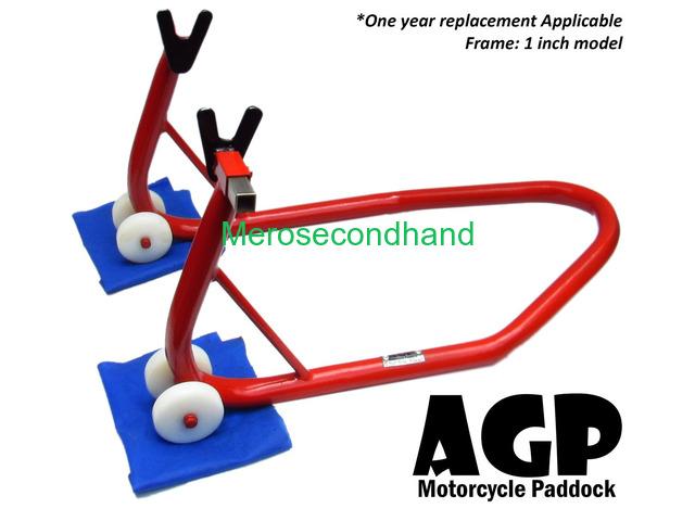 Ktm/ Yamaha 1 Inch Motorcycle Paddock By Agp Nepal - 1/4