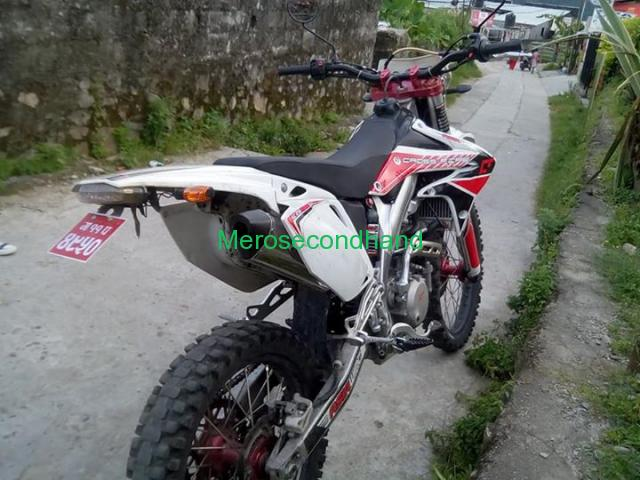 Secondhand - Dirt bike on sale at pokhara nepal - 2/4