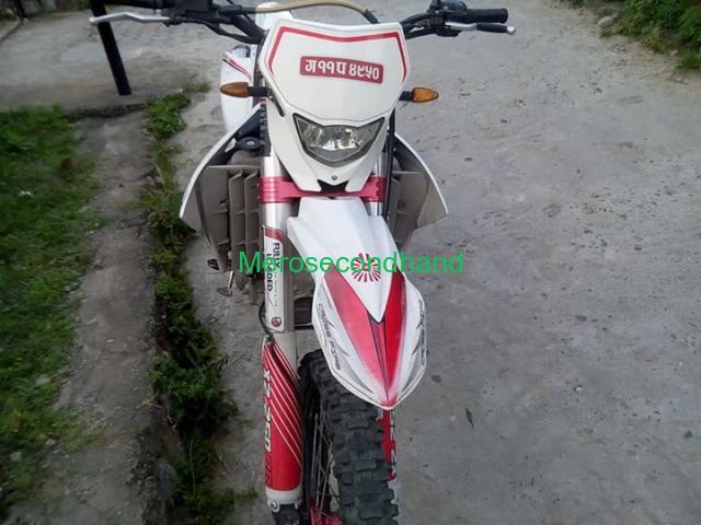 Secondhand - Dirt bike on sale at pokhara nepal - 3/4
