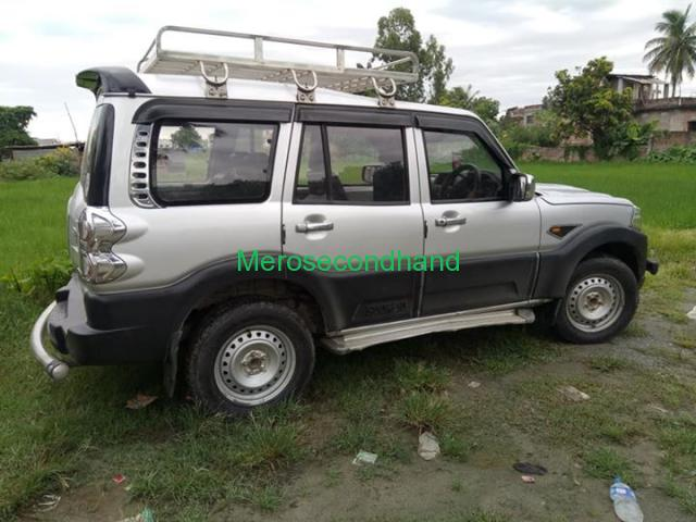 Secondhand - 2016 scorpio s4 car on sale at inaruwa nepal - 1/4