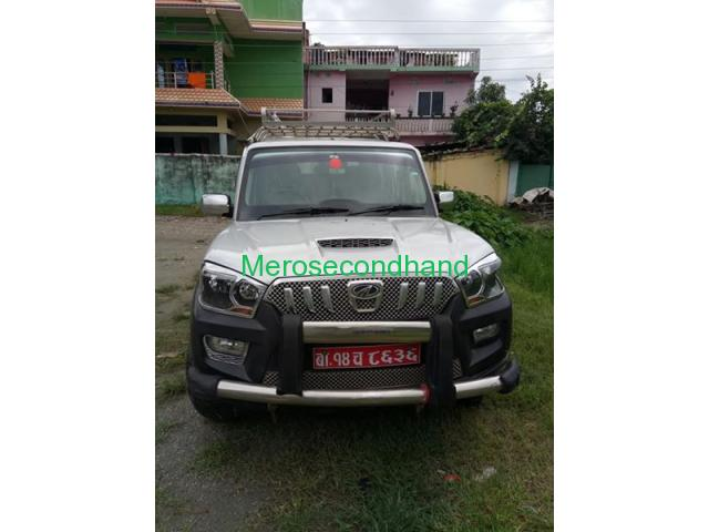 Secondhand - 2016 scorpio s4 car on sale at inaruwa nepal - 2/4
