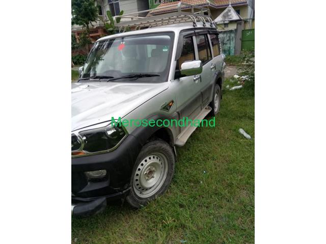 Secondhand - 2016 scorpio s4 car on sale at inaruwa nepal - 3/4