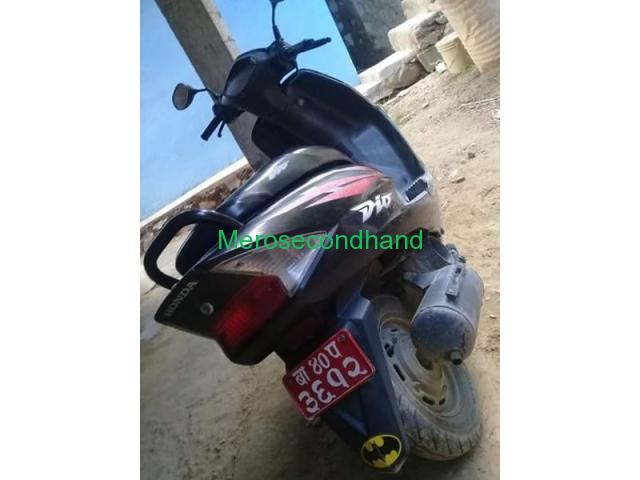 Secondhand - Honda Dio scooty/scooter on sale at kathmandu - 2/2