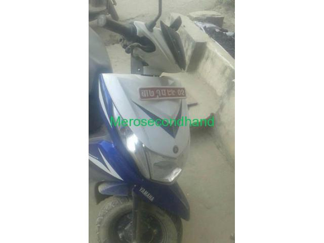 Secondhand - Yamaha Ray z scooty/scooter on sale at koteshwor - 1/1