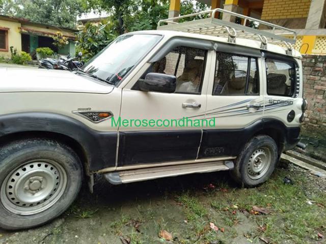 Secondhand - Mahindra scorpio car on sale at kathmandu nepal - 1/6