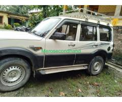 Secondhand - Mahindra scorpio car on sale at kathmandu nepal