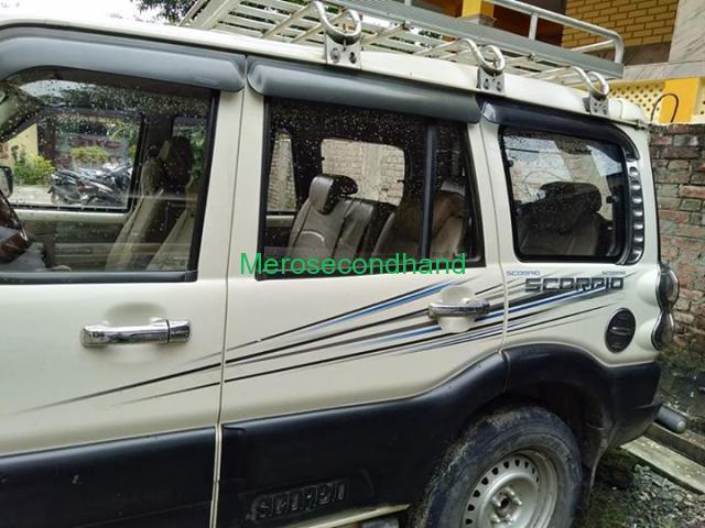 Secondhand - Mahindra scorpio car on sale at kathmandu nepal - 5/6
