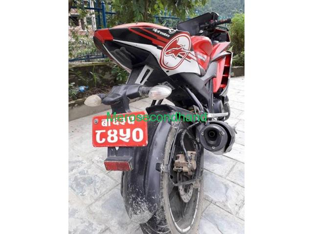 Secondhand - yamaha Fz bike on sale at kathmandu - 4/5