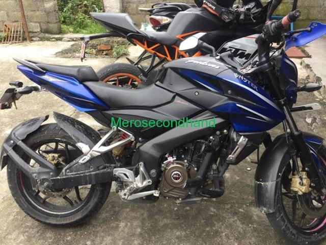 Secondhand - pulsar 200 ns bike on sale at pokhara nepal - 1/3