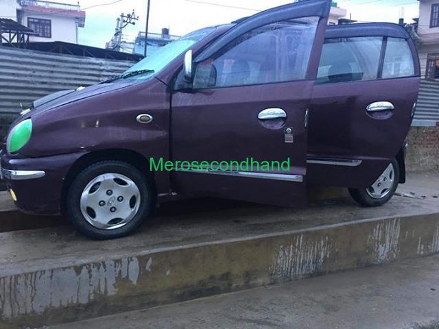 Secondhand - huyandai santro car on sale at kathmandu - 1/3