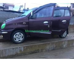 Secondhand - huyandai santro car on sale at kathmandu