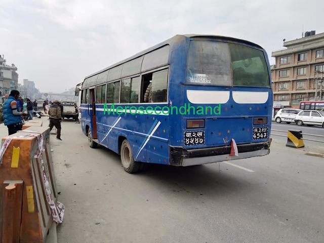 Secondhand Bus on sale at kathmandu - 1/4