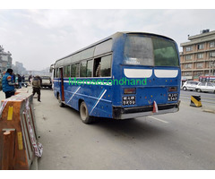 Secondhand Bus on sale at kathmandu