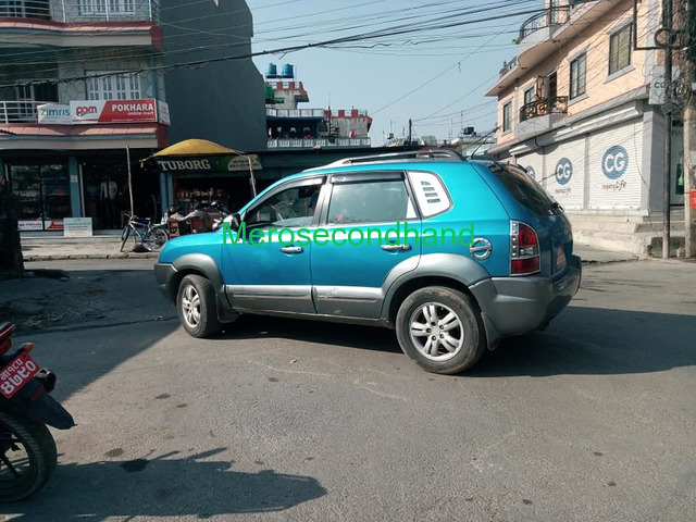 Secondhand Hyundai Tucson on sale at pokhara - 1/4