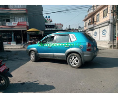 Secondhand Hyundai Tucson on sale at pokhara