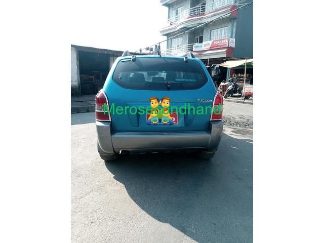 Secondhand Hyundai Tucson on sale at pokhara - 4/4
