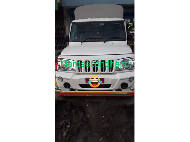 Secondhand bolero pickup on sale at butwal nepal - 1/3