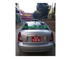 Hyundai accent car on sale at kathmandu nepal