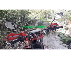 Crossfire Dirt bike on sale at pokhara