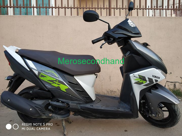 Secondhand Yamaha Ray scooty on sale at lalitpur nepal - 1/4