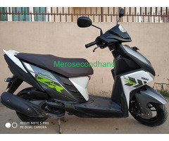 Secondhand Yamaha Ray scooty on sale at lalitpur nepal