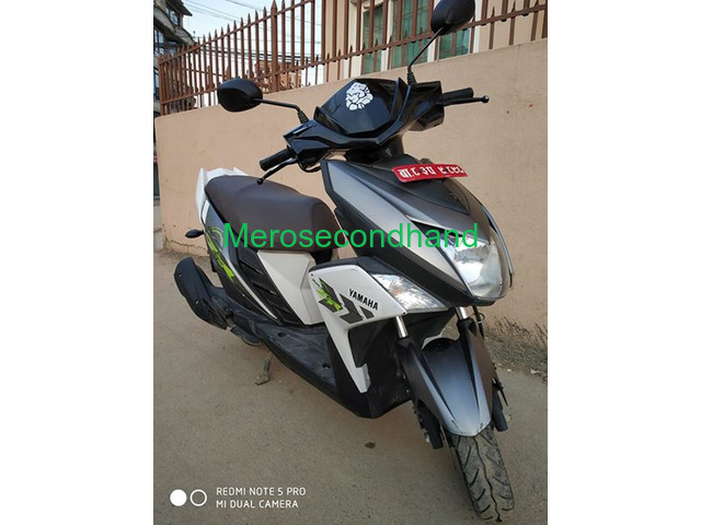 Secondhand Yamaha Ray scooty on sale at lalitpur nepal - 3/4