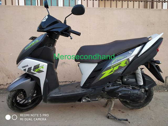 Secondhand Yamaha Ray scooty on sale at lalitpur nepal - 4/4
