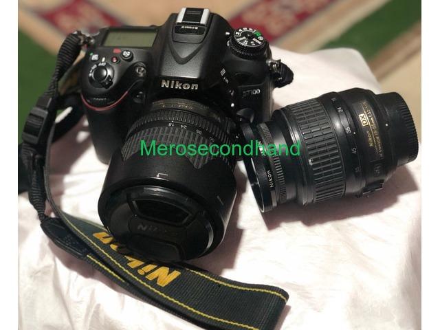 Nikon D7100 Kit 18-105mm + Sigma Lens 18-35mm - 1/5