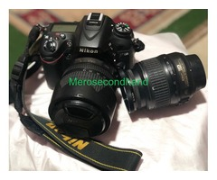 Nikon D7100 Kit 18-105mm + Sigma Lens 18-35mm