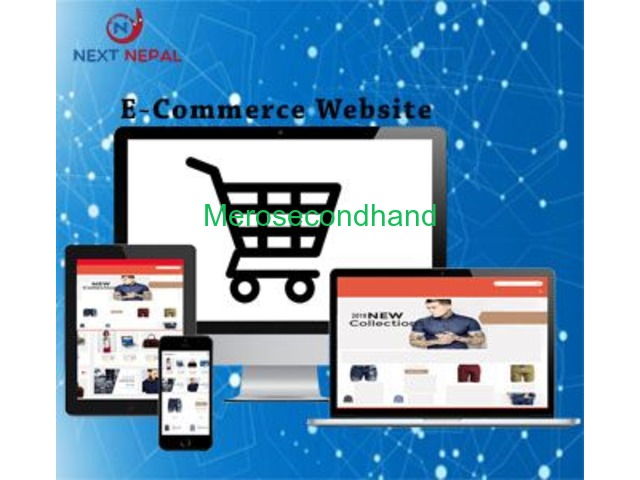 Next Nepal E-Commerce Website Development company in Nepal | Single & Multi vendor - 1/5