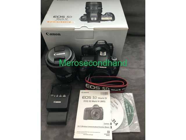 Canon 5D Mark 4 With Lens and Accessories - 1/1