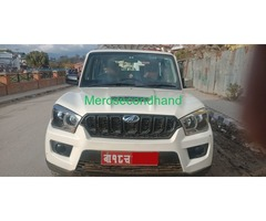 Mahindra Scorpio S4 2WD 2017 on Sale at kathmandu nepal - Image 1/8