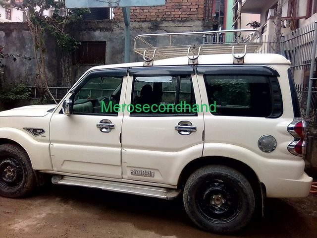 Mahindra Scorpio S4 2WD 2017 on Sale at kathmandu nepal - 5/8