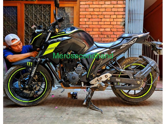 Used FZ bike on sale at kathmandu nepal - 1/5